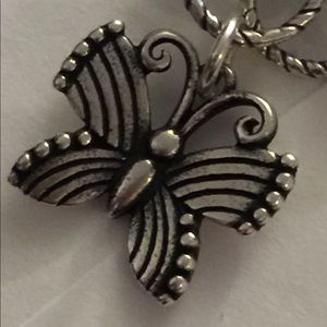 Jame Avery Sterling Festival Butterfly Charm